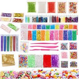 Mucus Supplies Kit, 88 Packs Including Fishbowl Beads, Fruit