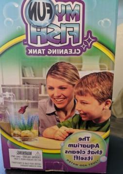 my fun fish tank self cleaning tank