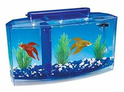 NEW Betta Fish Tank with Divider Triple Beta Tank Deluxe Wit