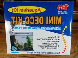 New TOM Mini Deco Kit 1 Gallon Nano Acrylic Aquarium Fish Ta