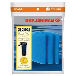 Marineland PA0115-03 HOT Magnum Foam Sleeve, Rite Size U, 3-