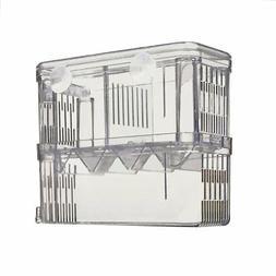 "Petzilla PBI-2 Aquarium Fish Breeder Box for Hatchery 6""x3.5"