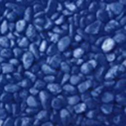 Pet Pioneer Pebbles Stone Dark Blue Aquarium Fish Tank Grave
