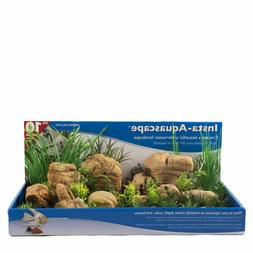 Penn Plax 2 pieces Insta-Aquascape aquarium Aquascaping fit