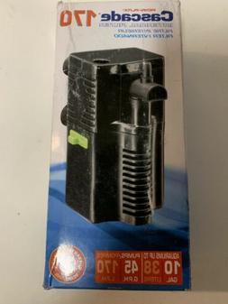 Penn Plax Cascade 170 Internal Pump Filter of Aquariums Tank