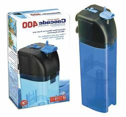 Penn Plax Cascade 400 Submersible Aquarium Filter Cleans Up