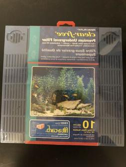 Penn Plax Premium Clear Free Undergravel Aquarium Filters 10