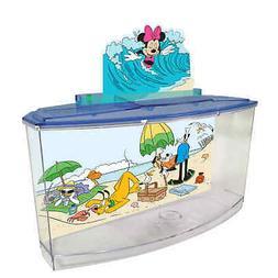 Penn-Plax-Disney Mickey Mouse Freshwater Betta Tank-Aquarium