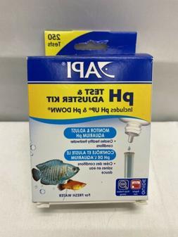 API pH TEST & ADJUSTER KIT 250-Test Freshwater Aquarium Wate