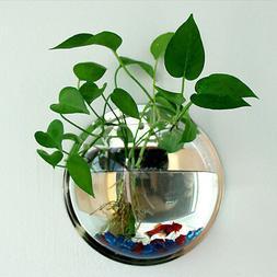 Pot Plant Wall Mounted Hanging-Bubble Acrylic Bowl Fish Tank
