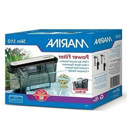 Marina Power Filter for Aquariums Fish Tank up to 10 Gallons