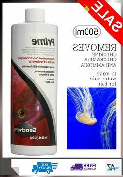 Seachem PRIME AQUARIUM Water Conditioner FISH TANK DECHLORIN