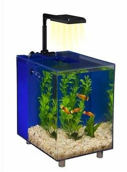 Fish & Aquatic Supplies Prism Nano Aquarium Kit - Blue