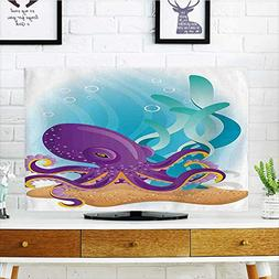 Jiahonghome Protect Your TV Octopus on Seabed Underwater wit