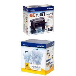 Aqueon QuietFlow Power Filter 30 Starter Kit