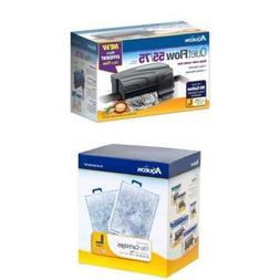 Aqueon QuietFlow Power Filter 55/75 Starter Kit