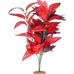 Imagitarium Red Fire Silk Aquarium Plant, X-Large