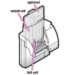 Zilla Reptile Terrarium Filter Replacement Cartridges, Mediu