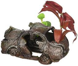 Penn Plax RR804 Sunken Gardens Car Wreck Small