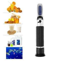 Salinity Refractometer Water Salt hydrometer Tester for Seaw