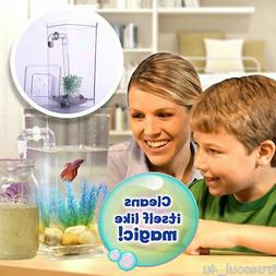 ❤️AS SEEN ON TV ~Self Cleaning Tank My Fun Fish Aquarium
