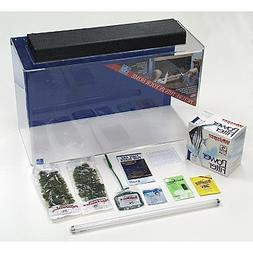 SeaClear 29 gal Show Acrylic Aquarium Junior Executive Kit,
