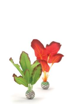 biOrb Silk Plant Pack, Small, Red/Green