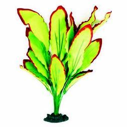 Aqua One Silk Plant Amazon Red Green 30cm Plastic Aquarium F