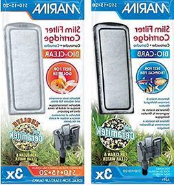 Marina  Slim Filter Carbon Plus Ceramic Cartridges and Zeoli