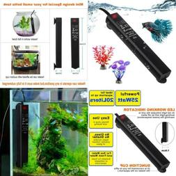 SZELAM 25W Smart Mini Aquarium Heater, Betta Fish Tank Heate