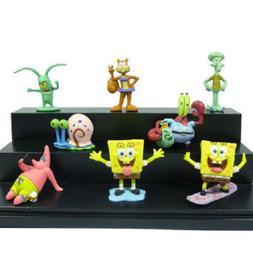 Spongebob All Characters Fish Tank Kids Decoration Squidward