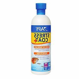 API STRESS COAT Aquarium Water Conditioner 16-Ounce Bottle -