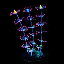 Uniclife Strip Coral Plant Ornament...Fish Tank Aquarium Dec
