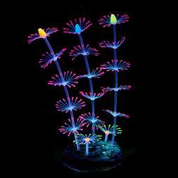 Uniclife Strip Coral Plant Ornament...Fish Tank Aquarium Dec