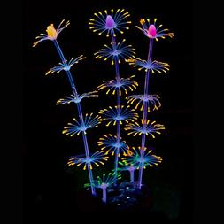 Uniclife Strip Coral Plant Ornament Glowing Effect Silicone