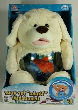 Teddy tank fish tank puppy