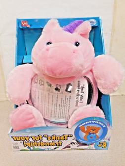 Teddy tank unicorn NIP fish bowl Christmas beta