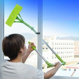 YJYdada Telescopic Foldable Handle Cleaning Glass Sponge Mop