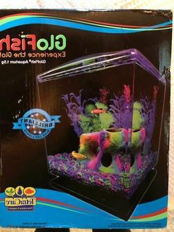 Tetra Care GloFish Aquarium Starter Kit, 1.5 gallon- NEW!