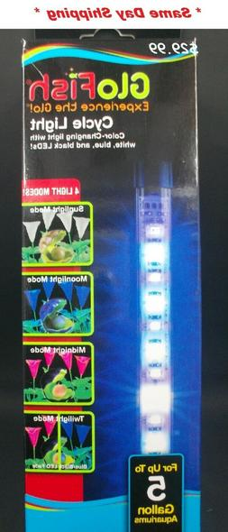 Tetra GloFish Cycle Light Up To 5 Gallon Aquariums Color-cha