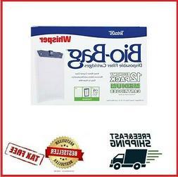 Tetra Whisper Bio-Bag Cartridge Unassembled Medium 12-Pack F