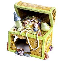 treasure chest aquarium ornament