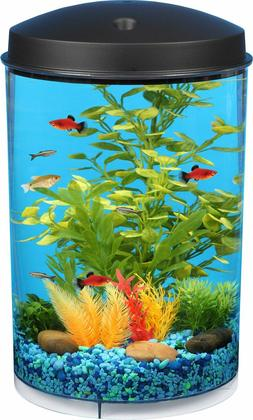 Koller Products Tropical 360 View Aquarium Starter Kit