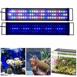 """KZKR Upgraded Aquarium Light LED Full Spectrum 24""""-32"""" Hood"""