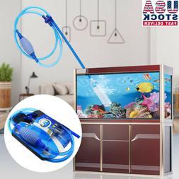 Large Aquarium Fish Tank Instant Siphon Cleaner / Vacuum for