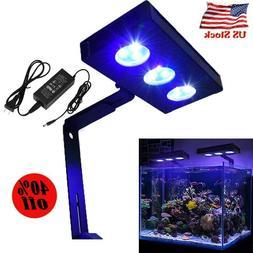 US Led Light Aquarium Saltwater Nano Fish Tank Lighting for