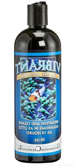 Vibrant Liquid Cleaner 16oz REEF Aquarium Algae Control for