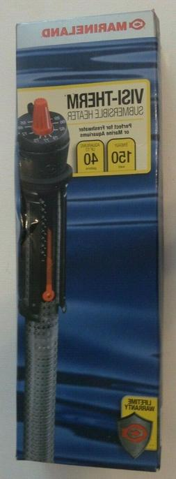 Marineland® Visi-Therm Submersible Aquarium Heater size: