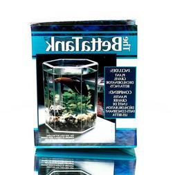 VTG Hawkeye Intl The Betta Tank Small Stackable Aquarium Kit