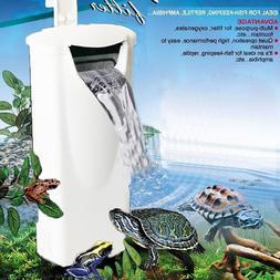 Waterfall Aquarium Turtle <font><b>Fish</b></font> <font><b>